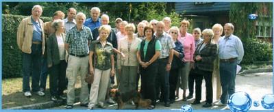 BiWis-Mitglieder vom Juli 2011 in Teltow Seehof .